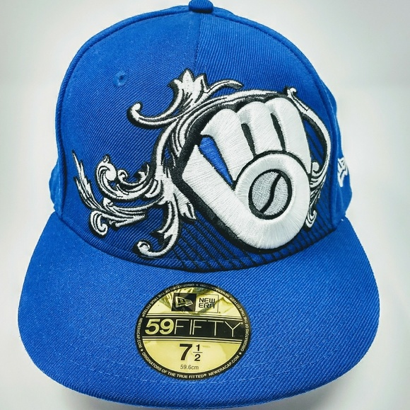 best online on feet images of official store New Era Accessories | Mlb Milwaukee Brewers Fitted Hat | Poshmark
